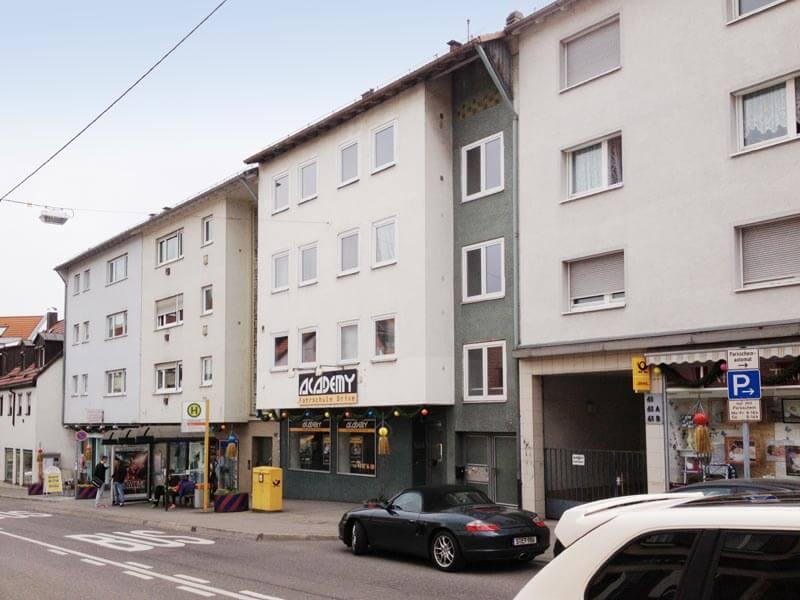 Stuttgart Gablenberg Geschäftshaus